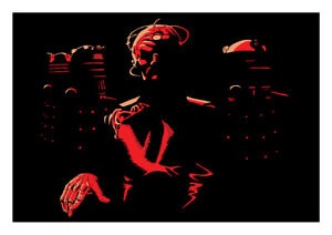 Doctor Who Art Print Davros & The Daleks by Scott Gray