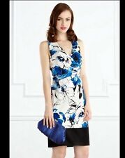 """BNWT """" Coast """" Size 8 Gala Floral Print Dress Races Summer Next Day Delivery New"""