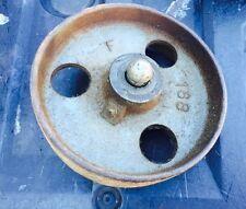 Vintage Industrial Salvage  Cast Iron Metal Train cart Wheels Steam Punk