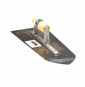 """Top Quality Flooring Finishing Concrete Trowel Carbon Steel 16"""" Bullnose A7"""