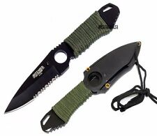 """7"""" TACTICAL COMBAT SURVIVAL HUNTING NECK KNIFE - [6788]"""