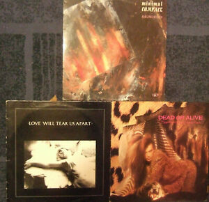 JOY DIVISION+MINIMAL COMPACT+DEAD OR ALIVE... lot lp