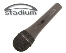 2 x Stadium LIVEMIC Dynamic Microphone MIC for vocals instruments Unidirectional