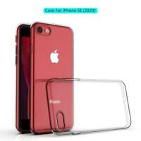 For iPhone SE 2 2020 Case Ultra Slim Shockproof Protective Silicone Gel Cover