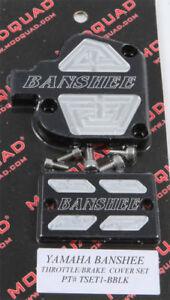 Modquad Throttle Front Brake Cover Yamaha Banshee YFZ350 YFZ 350 TSET1-BBLK