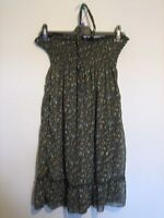 A LOVELY WOMENS FUNKY ROCK DRESS WITH NECK TIE FASTENER SIZE SMALL / MEDIUM