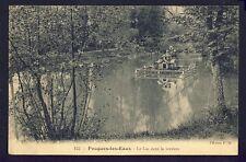 cpa Bourgogne POUGUES les EAUX (Nièvre) Le LAC dans la VERDURE Maison Nids