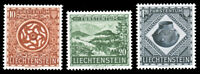 Liechtenstein #274-276 MNH CV$65.00 1953 NATIONAL MUSEUM