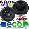 AUDI A4 1994 -2001 SONY 13cm 460 Watts 2 Way Front Door Car Speakers & Brackets