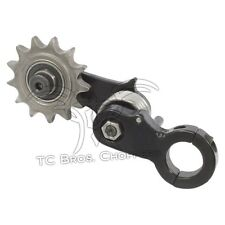 1.125 Clamp On Chain Tensioner 530 Sprocket chopper xs650 on hardtail weld frame