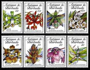 HERRICKSTAMP BARBUDA Sc.# 1113-20 Orchids Flowers Stamps Mint NH