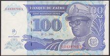 TWN - ZAIRE 60a - 100 Nouveaux Zaïres 15/2/1994 UNC G-S