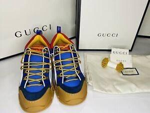 Gucci Men's FLASHTREK Furbi Sneakers SIZE 9 (Orig. Price $1,190)AUTHENTIC NWB