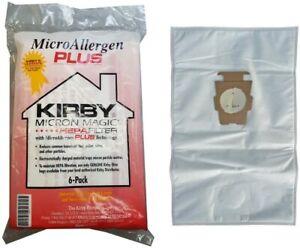 KIRBY VACUUM BAGS 204814A MICRO ALLERGEN PLUS HEPA FILTER VACUUM BAGS