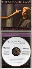 TOMMY SHAW: GIRLS WITH GUNS CD REISSUE AOR ROCK STYX DAMN YANKEES OUT OF PRINT