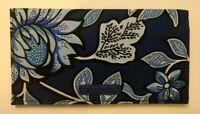 NWT Vera Bradley Checkbook Cover Case Purse Bifold Wallet in Tropic Tapestry