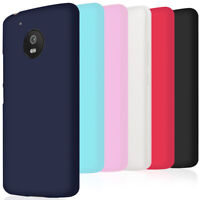 Souple Silicone Coque pour Motorola Moto G5 Moto G5 Plus Caoutchouc Slim Violet