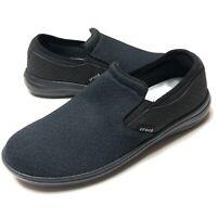 Crocs Reviva Slip-On Loafer Comfort Shoe Black Men's Size 8