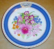 Spode THE 1985 CHELSEA FLOWER SHOW PLATE Collectors Plate