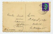 AK Kuldiga Kurland Kessel 03.04.1945 rare Zivilpost keine Feldpost Pure Sabile