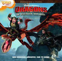 DRAGONS-DIE WÄCHTER VON BERK -14: DER WETTKAMPF ORIG HÖRSPIEL Z.TV-SERIE CD NEW