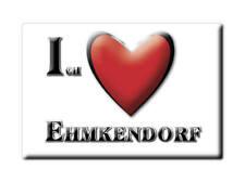 EHMKENDORF (MV) MAGNET ICH LIEBE  DEUTSCHLAND SOUVENIR MECKLENBURG VORPOMMERN -3