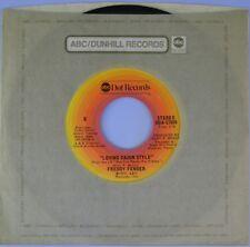 "7"" FREDDY FENDER Loving Cajun Style /Secret Love ABC-DOT Tex-Mex Tejano USA 1975"