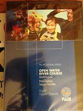 PADI 70852mul Open Water Diver Course Prescriptive Lesson Guides Rev 03/10 Ver 2