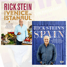 Rick Stein Collection 2 Books Set Rick Stein From Venice to Istanbul & Spain NEW