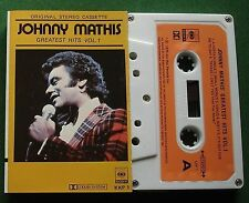 Johnny Mathis Greatest Hits Vol 1 inc A Certain Smile + Cassette Tape - TESTED