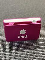 Apple iPod Shuffle 2nd Gen MA948LL/A A1204 1GB Pink Fuchsia - Original Owner
