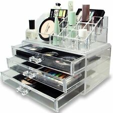Inditradition Cosmetic & Make Up Organizer Cum Storage Box (02 Pc Set)