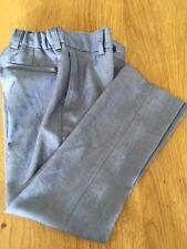 Next Signature Trousers Age 7 Blue Slim Fit