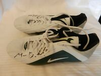 Green Bay Packers Nike Spikes Cleats Signed by #20 Makinton Dorleant