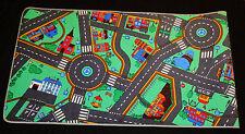 Dess. 8)  Kinderteppich Teppich Straßen Spielteppich 95cm x 200cm