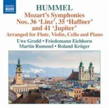 Mozart: Symphonies No. 35, 36 & 41 - Arranged for Flute, Violin Cello & Piano by