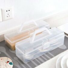 Plastic Storage Box Pantry Bean Container Food Organizer Home Kitchen Tool Case