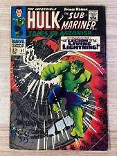 Tales to Astonish #97 (Marvel Comics) Hulk and Sub-Mariner appearance