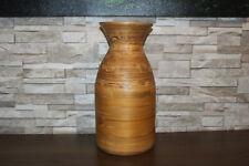 VERY LARGE Lightweight Decorative Wooden Flower Vase