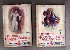 les trois mousquetaires - alexandre dumas - 2 volumi in francese