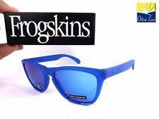 Oakley Frogskins 9013 C755 X Ray Blue Prizm Sapphire Iridium Spectrum Sunglasses