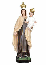 Our Lady of Mount Carmel resin statue cm. 60 -  made in Italy