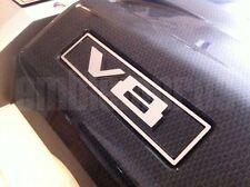 "2010-2012 Camaro ""V8"" Emblem and Trim Ring Mirror Stainless Steel"