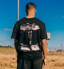 Offizielle Criminal Damage x zurück in die Zukunft Space in Time T-Shirt schwarz