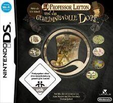 Nintendo DS 3DS Professor Layton und das geheimnisvolle Dorf GuterZust.