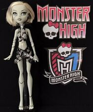 FRANKIE STEIN SKULL SHORES BLACK & WHITE DOLL - MONSTER HIGH, 2012