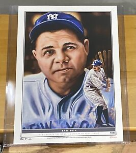 2021 Topps Game Within The Game Baseball Print of Babe Ruth - #75/99 RARE MINT!!