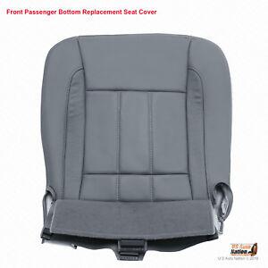 2009 Dodge Ram 2500 3500 4500 Laramie Passenger Bottom Leather Seat Cover Gray