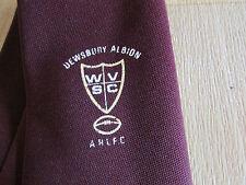 VINTAGE Dewsbury arlfc Rugby League & wvcs Cravatta da filaspun