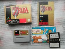 Jeu Super Nintendo / Snes Game Zelda Link to The Past Complet CIB Hol BIEN LIRE